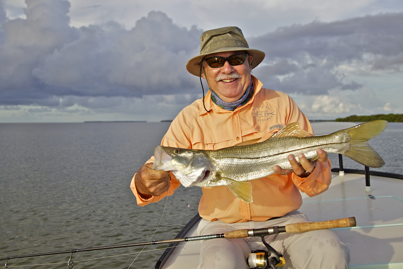 Chico with Snook ©Pat Ford 2011