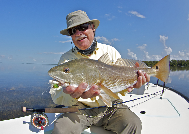 Chico with a Nice Redfish ©Pat Ford 2011