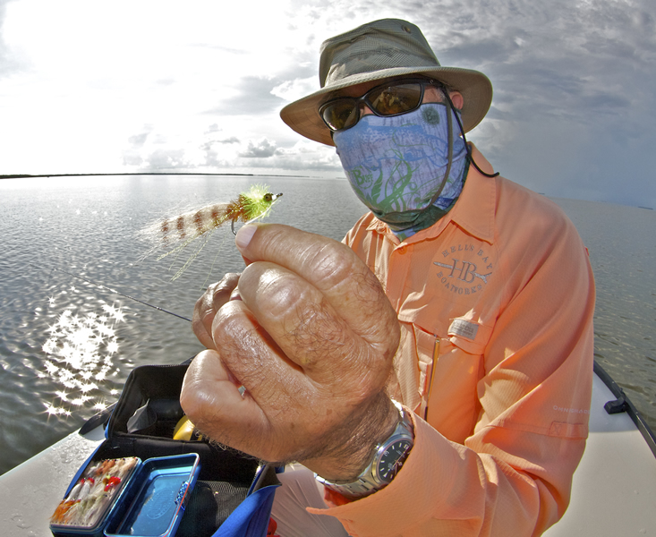 Chico with Redfish Fly ©Pat Ford 2011