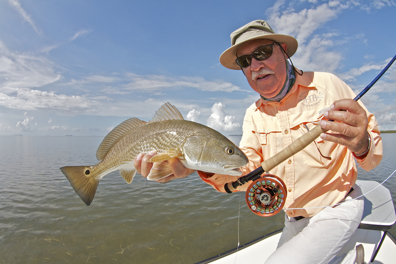 Chico with Redfish ©Pat Ford 2011